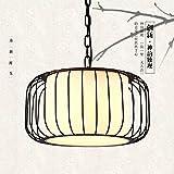 RBB Personalisierte dekorative Beleuchtung chinesische Kronleuchter Nordic Vogel Anhänger, kreative Persönlichkeiten Bar Restaurant Lichter, amerikanischen Stil Schmiedeeisen Balkon Korridor Le