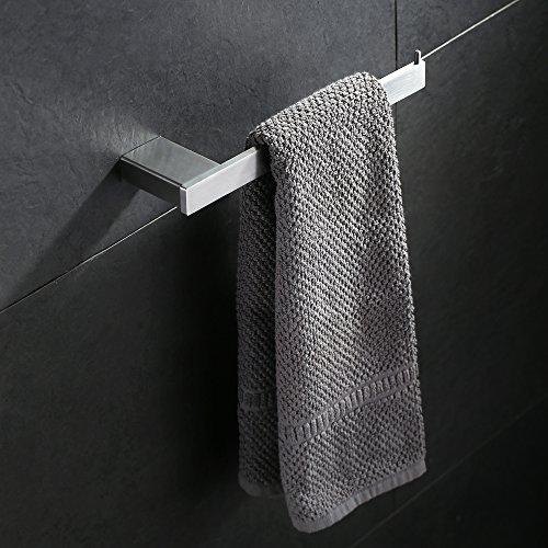 Homelody Handtuchstange SS304 Edelstahl Handtuchhalter Handtuchständer Wand Wandhandtuchhalter Handtuchrung Handtuch Halter Badetuchstange