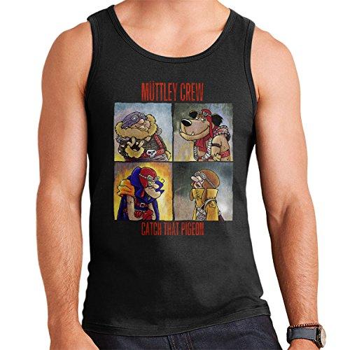 Muttley Crew Funny Wacky Races Men's Vest
