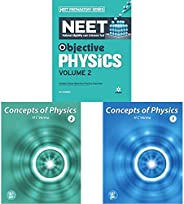 Objective Physics for NEET - Vol. 2 2021+Concept of Physics Part-2 (2019-2020 Session) by H.C Verma+Concept of