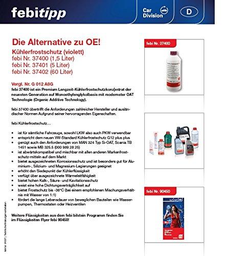 Ansicht vergrößern: febi bilstein 37401 Frostschutzmittel G12++ für Kühler (5 Liter)
