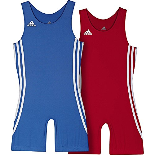 adidas Wrestling Twin Pack Kids 059473 air force blue/light scarlet (L) (Climalite-pack)