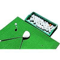 Golf Matte, Professional Golf Übungsmatte mit Impact Polsterung zu schützen Vereine mit Ball Tablett und vier Tees aus Gummi.