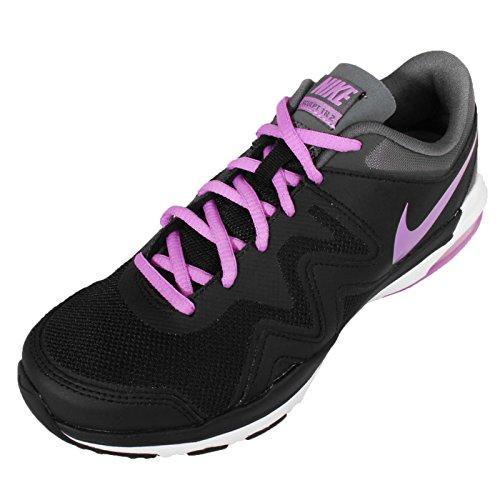 Nike  Wmns Air Sculpt Tr 2, Sneakers femme Noir - BLACK/FUCHSIA GLOW-DRK GRY-WHT