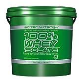 Scitec Nutrition 100% Whey Isolate Molkenproteinisolat 4000 g (Vanille)