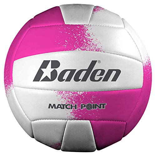 Baden Match Point Volleyball (Offizielle Größe), Neon Pink/Weiß