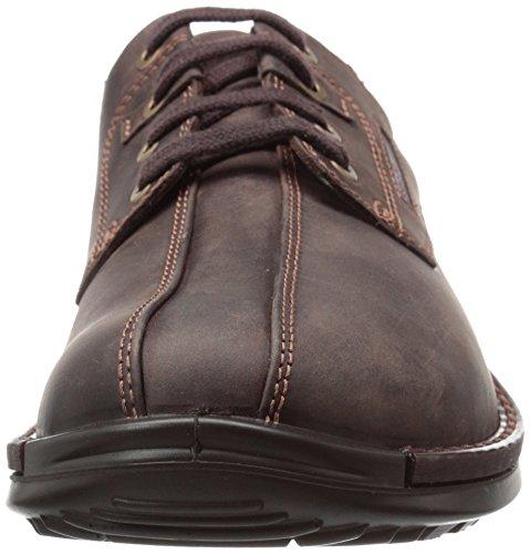 Ecco , Chaussures de ville à lacets pour homme Café
