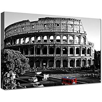 Quadri Moderni Soggiorno XXL 120x60 cm Roma Colosseo 3 ...