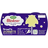 Blédina Blédiner Duo de Carottes/Patates Douces Semoule Lait dès 8 Mois 400 g