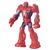 Playskool Heroes – Marvel – Super Hero Adventures – MECH Spider-Man – 1 Action Spielfigur 29 cm