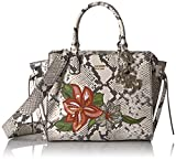 GUESS womens Digital Python Status Satchel
