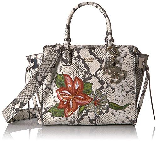 Guess Damen Hwpg6853060 Shopper, Mehrfarbig (Python), 15.5x23.5x36 centimeters (Python-schulter-handtaschen)
