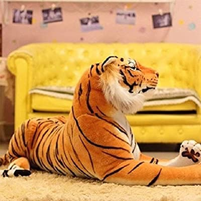 SODIAL(R) CHILDREN PLUSH ARTIFICIAL SIMULATION Tiger fur FABRIC DOLL TOYS doudous