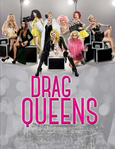 DRAG QUEENS: Coloring Book, best characters inside thumbnail
