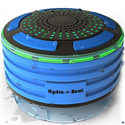 HydroBeat Duschradio mit Bluetooth und LED