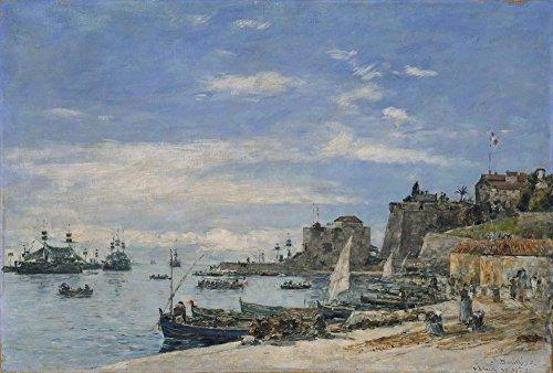 Das Museum Outlet-Quay bei Villefranche, 1892-Poster (61x 81,3cm)