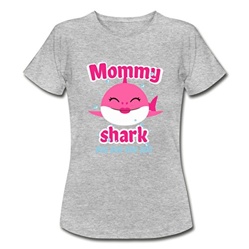Spreadshirt Mommy Shark - Daddy Shark Doo Doo Doo Women's T-Shirt