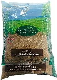 Green Valley Palakkad Matta Brown Rice - 5 + 2 kg