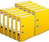 Herlitz Ordner maX.file protect A4, 8 cm breit (10er Pack   gelb)