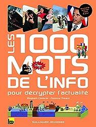 Les 1000 mots de l'info: Pour décrypter l'actualité