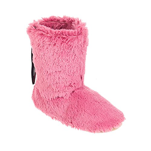 Animal Bollo, Chaussons à doublure chaude femme Rose - Pink (Dusky Pink)