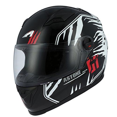 Astone Helmets gt2g-predator-bwxl casco Moto Integral