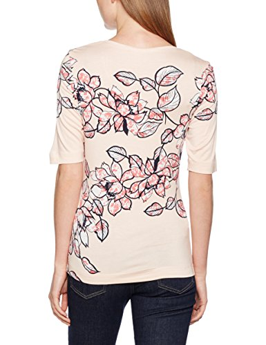 BASLER Damen T-Shirts Andrea Multicoloured (Rose Multi)