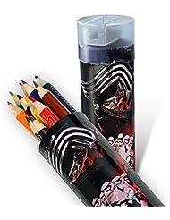 Star Wars Para Colorear Lápices Y Sacapuntas