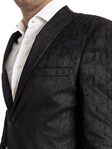 Giacca in Misto Cotone Black
