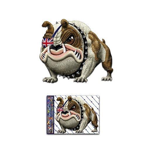 Lustige Tier Hund Lustige Abziehbild Aufkleber Für Auto Boote Trucks Caravans - ST00035UK_SML - JAS Aufkleber ()