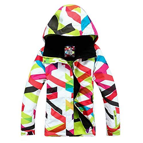 APTRO Damen Skijacke warm Jacke gefüttert Winter Jacke Regenjacke Mehrfarbig 9064 L