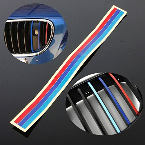 Grille Vinyl Streifen PVC Aufkleber für BMW M3 E36 M5 E46