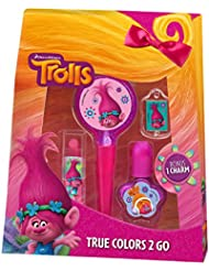 Trolls True Colors 2 Go Set de Maquillage