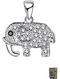 Original enez elefante colgante 2,0cm Real 925plata a2961+ Bolsa de Regalo