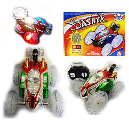 turbo-360-twister-rc-stunt-car-flashing-light-dasher-vehicle-toy-remote-control-gn-enterprises-blue