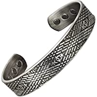 Herren-Magnet-Armband keltisches Armband aus Kupfer, zur Schmerzlinderung bei Arthritis, Karpaltunnelsyndrom/Sehnenscheidenentzündung... preisvergleich bei billige-tabletten.eu