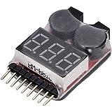 Tester, probador de voltaje de baterías LiPo ...