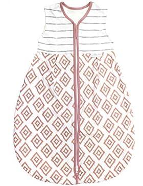 Emma & Noah Baby Schlafsack, verschiedene Größen und Farben, Kugelschlafsack, Übergangsschlafsack (1.0 Tog), 100%...