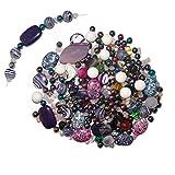 Edelstein Schmuck Bastel Perlen Set 200 tlg. ca.500 Gramm incl.3 m Nylonfaden