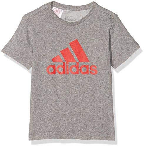 Adidas Yb Ess Logo Maglietta Grigio (Brebas/Rojint)