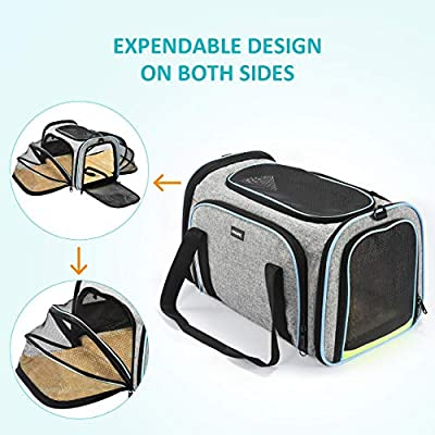 OMORC Pet Carrier Expendable Pet Travel Bag from OMORC