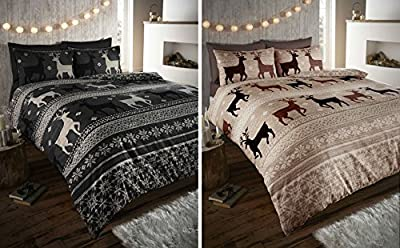 Warm & Cosy Soft Brushed Cotton Duvet Cover Sets