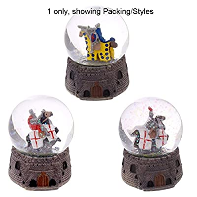 Knight Snow Globe Mounted On Horseback These Fantasy Knight Princess And Historical Figures