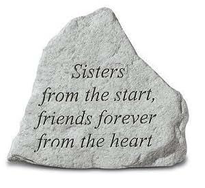 Kay Inc. Berry-74220 Sisters aus dem Start-Friends Forever From The Heart - Denkmal - 5,25 Zoll x 4,5 Zoll