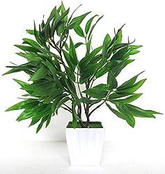Green Bonsai Artificial Plant With Pot