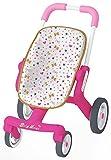 Smoby 251223 - Baby Nurse Puppenbuggy Pop