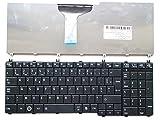 UPTOWN UP PARTS UP-KBT006-FR - Clavier pour TOSHIBA SATELLITE C650 C650D C655 C655D C660 C660D C665 C670 C670D L650 L650D L655 L655D L670 L670D L675 L675D L750 L750D L755 L755D L770 L770D L775 L775D - Layout FRANÇAIS - original Uptown