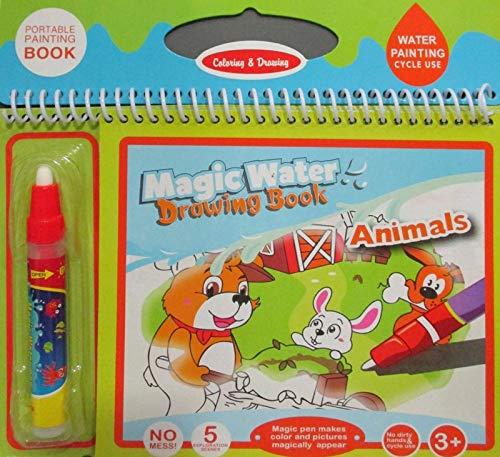 Sihirli Boyama Kitabı Magic Water Hayvanlar Alemi Fs 137 Magıc