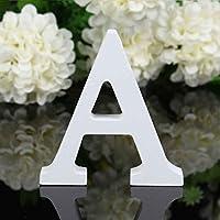 Gankmachine 26 Ampliación de Boda Colgantes Letras de Madera Pared del Alfabeto Fiesta en casa Decoración de la Tienda