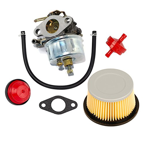 OuyFilters faciles à Carburateur Carb kit Tecumseh 632113 632113 A HS40 Hssk40 Filtre à air 30727 30604 John Deer Am30900 Cub Cadet 488619 488619-r1 Lesco 050113